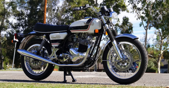 1975 Norton Commando MK3