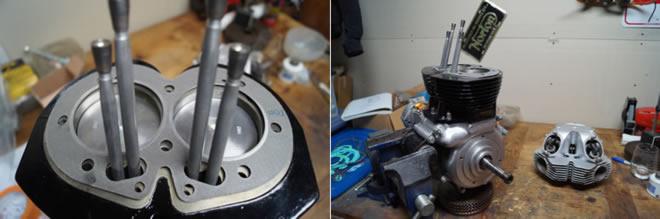 Norton MK111 Engine Rebuilt