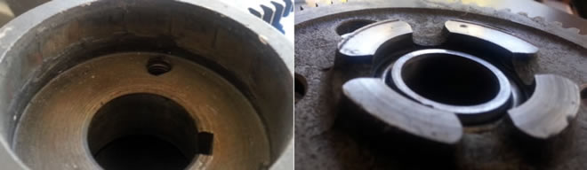 Damaged MK111 Primary Parts